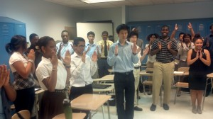 Smartest Students in NYC Giving Alastair Standing Ovation Pt.1